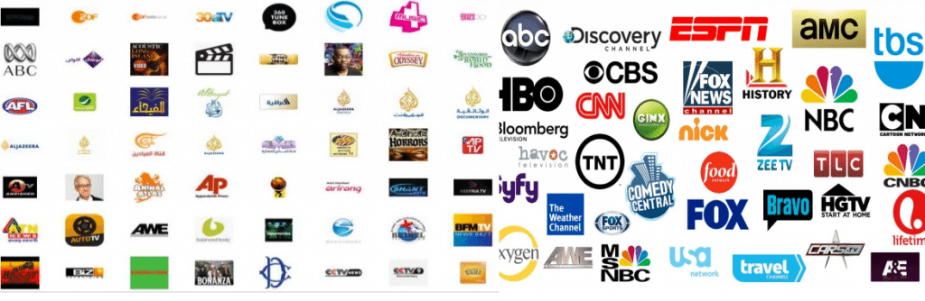 tv networks. 1000+ tv channels tv networks h